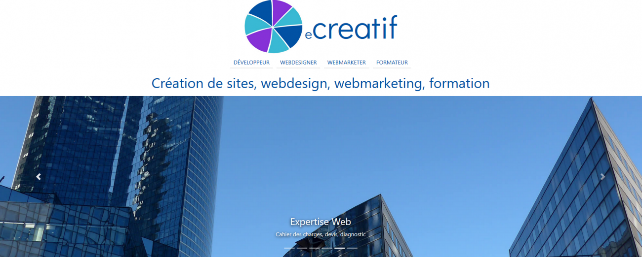 Nouveau site Flex WordPress